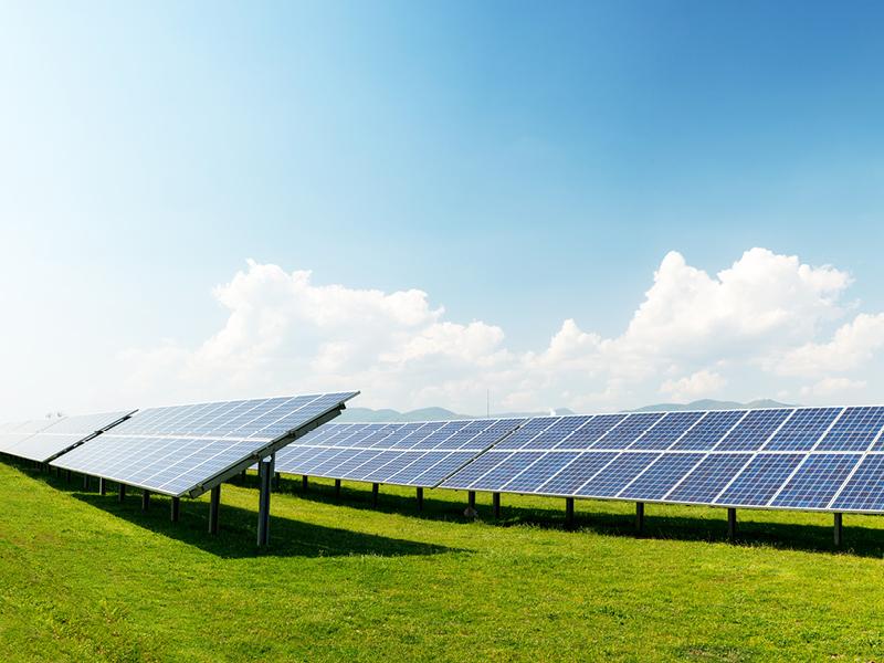 Solarenergie: die Kraft der Sonne nutzen.