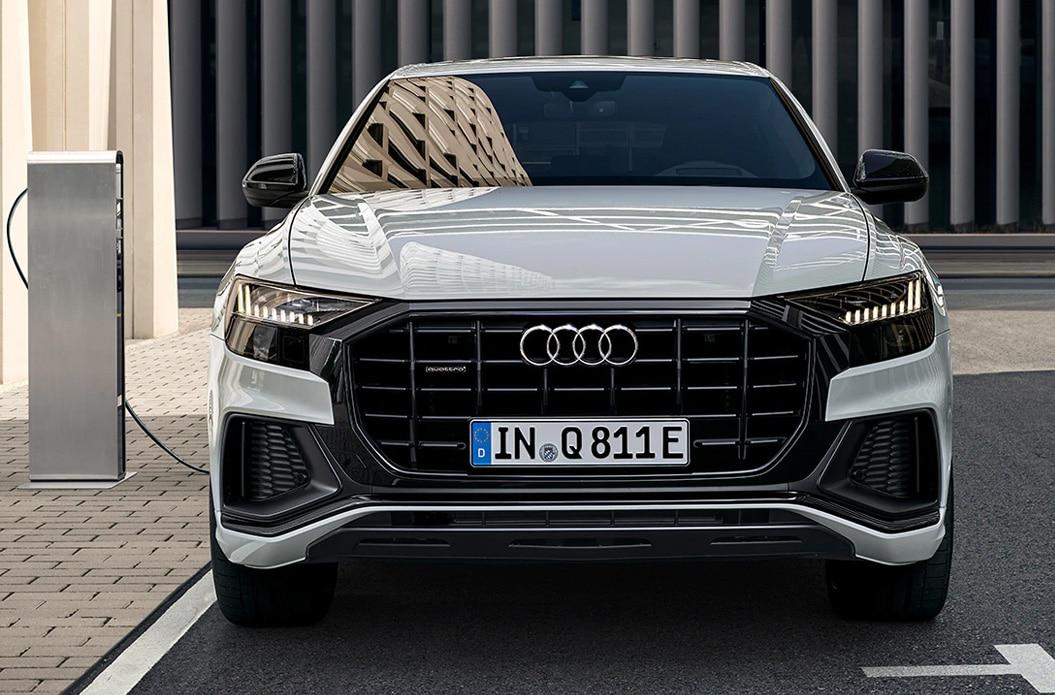 Der Audi Q8 TFSI e