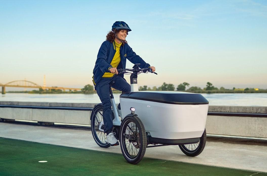 Das neue e‑Bike Cargo