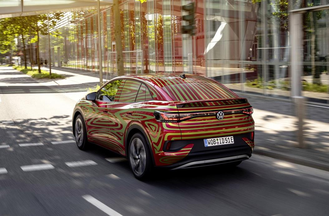 Volkswagen gibt Ausblick auf den ID.5 GTX